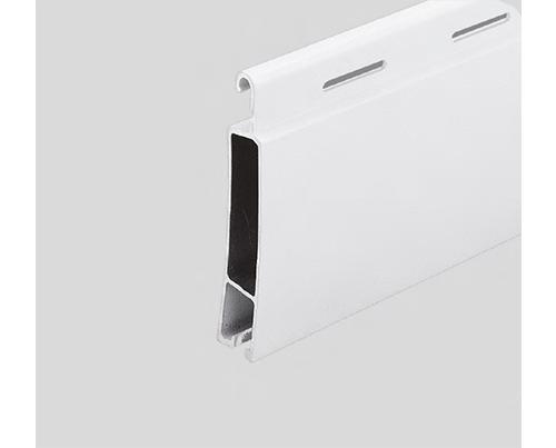 Avvolgibile P01 in alluminio estruso profilo 12x45mm